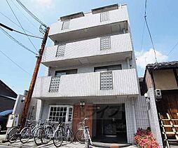 京都府京都市下京区六条通新町西入上若宮町の賃貸マンションの外観