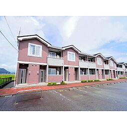 長野県大町市常盤の賃貸アパートの外観