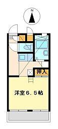 兵庫県神戸市北区有野中町3丁目の賃貸マンションの間取り