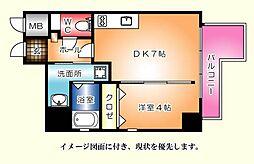 KATAYAMA BLDG  25--[1004号室]の間取り