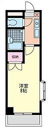 神奈川県相模原市南区上鶴間8丁目の賃貸マンションの間取り