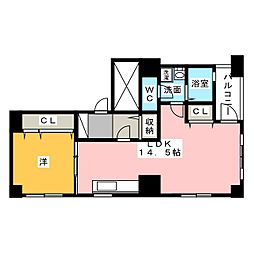 ダブルベース[1階]の間取り