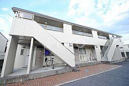 京都府京都市左京区下鴨宮崎町の賃貸アパートの外観