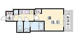 ファーストフィオーレ神戸駅前[5階]の間取り
