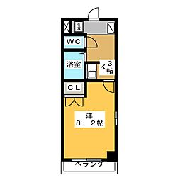 JOYFUL  PALACE[2階]の間取り
