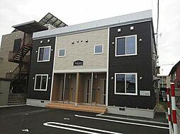 北海道札幌市白石区の賃貸アパートの外観