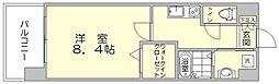 ギャラクシー県庁口[8階]の間取り
