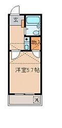 リビエール戸塚I[2階]の間取り