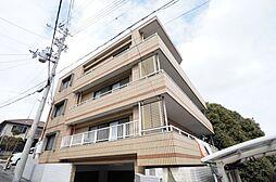 兵庫県宝塚市長寿ガ丘の賃貸マンションの外観