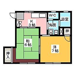 印場駅 3.9万円