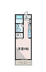 柿の木ハウス[2階]の間取り