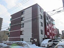 北海道札幌市西区琴似三条5丁目の賃貸マンションの外観