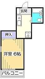 レボントリー国分寺[2階]の間取り