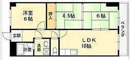 松岡マンション[103号室]の間取り
