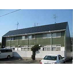 岐阜県羽島市正木町須賀小松の賃貸アパートの外観