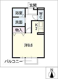 セジュールentopiaIIB棟[1階]の間取り