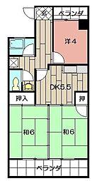 第8岡部ビル[303号室]の間取り