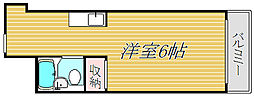 長岡マンション[3階]の間取り