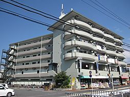 京都府宇治市宇治半白の賃貸マンションの外観