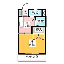 STUDY DORM[1階]の間取り