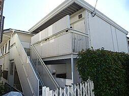 神奈川県川崎市麻生区百合丘3丁目の賃貸アパートの外観