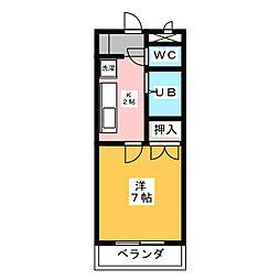 プルミエ熱田[2階]の間取り