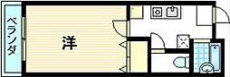 シャトールミエール[4階]の間取り