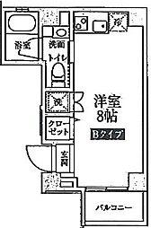 東京都墨田区押上1丁目の賃貸マンションの間取り
