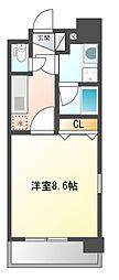 ステージファースト名駅[1階]の間取り