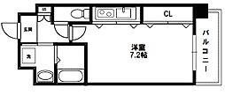 プレッツア新大阪[2階]の間取り