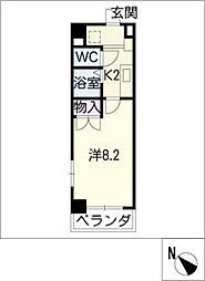 Aiban[3階]の間取り