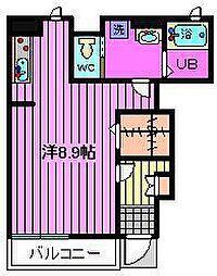 埼玉県川口市幸町1丁目の賃貸アパートの間取り