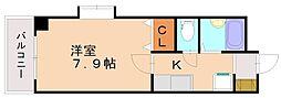 福岡県福岡市南区花畑2丁目の賃貸マンションの間取り