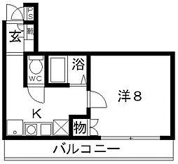 Rinon恵我ノ荘(リノン恵我ノ荘)[205号室号室]の間取り