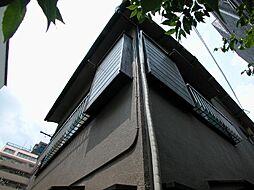 東京都調布市東つつじケ丘1丁目の賃貸アパートの外観
