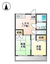 長谷川産業ビル[4階]の間取り