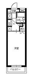 スカイコート横浜南太田[2階]の間取り