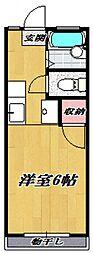 ルトゥール宮前[101号室号室]の間取り