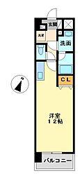 愛知県名古屋市港区稲永1丁目の賃貸マンションの間取り