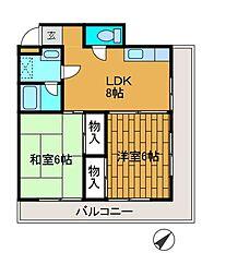 文京ハイプラザ[3階]の間取り