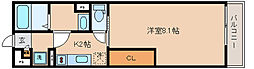 兵庫県神戸市兵庫区駅南通3の賃貸アパートの間取り