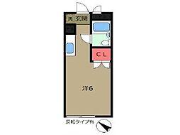 Plam21[3階]の間取り