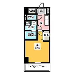 GRAN30NAGOYA[10階]の間取り