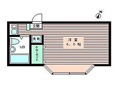 アイコート練馬[3階]の間取り