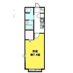 CURAVIE[2階]の間取り