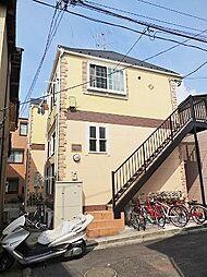 神奈川県川崎市幸区遠藤町の賃貸アパートの外観