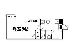 アークリード平野[2階]の間取り