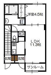 地御前駅 5.7万円