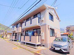 広島県安芸郡海田町東昭和町の賃貸アパートの外観