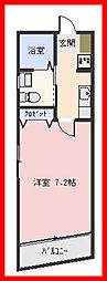 東京都葛飾区堀切3の賃貸マンションの間取り